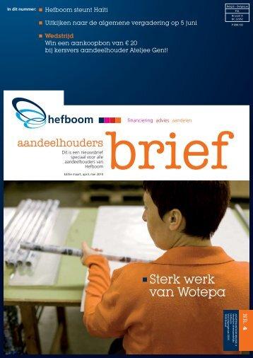 pdf-versie - Hefboom