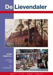 22e Lievendaler - Stichting Wijkoverleg Lievendaal