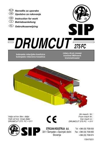 Navodila_DRUMCUT_275_FC_(tov_st_011)_NL.pdf - SIP Strojna ...