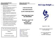 ALS folder NL.pdf - ALS Liga België