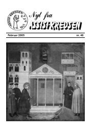 Februar 2005 nr. 46 - Assisi-Kredsen