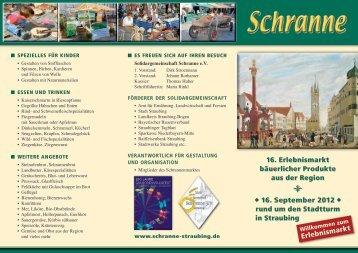 Schranne - Flyer 2012 (PDF, ca. 1,3 MB) - Solidargemeinschaft ...