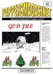 Julnummer 2005 - Pappers - Avd 68