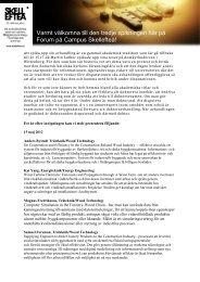Här kan du läsa en sammanställning av 11 abstract - Campus ...