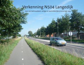 Verkenning N504 Langedijk - Bestuurlijke informatie gemeente Langedijk
