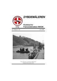 DYBDEMÅLEREN - Frømandsklubben Nikon