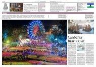 Canberra firar 100 år - Albert Ehrnrooth