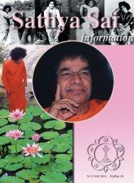 SSI höst 2011.indd - Sri Sathya Sai Baba Seva Organisation