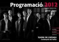 Programació Teatre Ateneu - Ajuntament de Cerdanyola del Vallès