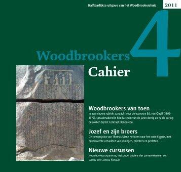 WoodbrookersCahier nummer 4 - Vereniging Woodbrookers Barchem