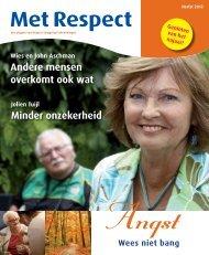 Met Respect - herfst 2012 - RESPECT Zorggroep Scheveningen