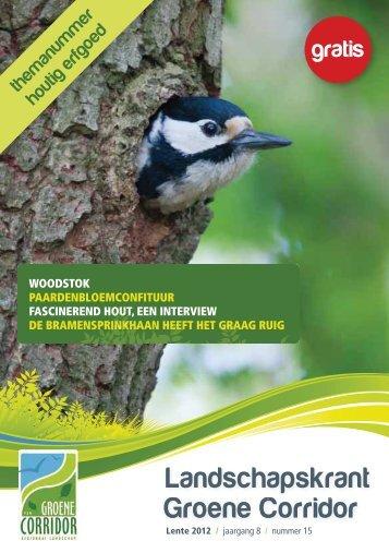 themanummer Houtig Erfgoed - Regionaal Landschap Groene ...