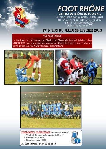 PV n°132 du 28 février 2013