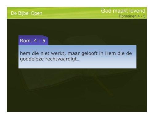 Rom.8 - De Bijbel Open