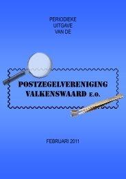 Februari 2011 - Postzegelvereniging Valkenswaard eo