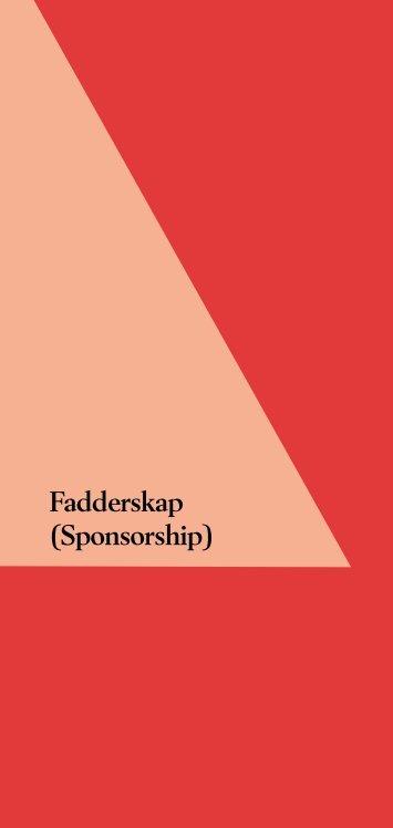 Fadderskap (Sponsorship) - Anonyma Alkoholister i Sverige