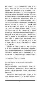 Fadderskap (Sponsorship) - Anonyma Alkoholister i Sverige - Page 6