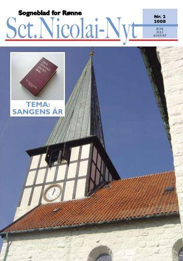 TEMA: SANGENS ÅR - Sct. Nicolai Kirke