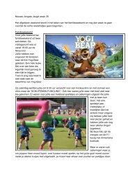 Nieuws Jongste Jeugd week 34 - MHC Barneveld