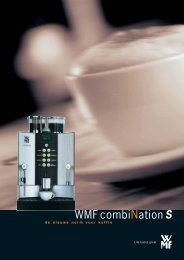 WMF combiNationS.indd - Koffie Partners