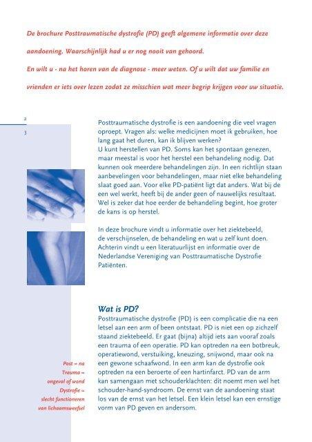 Brochure - De Nederlandse Vereniging voor Post Traumatische ...