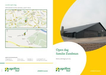 Open dag familie Zandman - Subvention