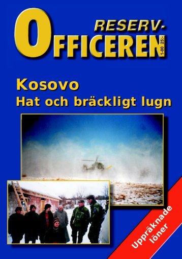 Kosovo Kosovo - Sveriges reservofficerare
