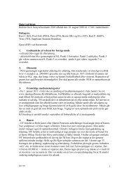 Referat af bestyrelsesmøde d. 18. august 2010 - Hals Golf Klub