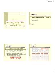 Aangifte Personenbelasting AJ 2009 Zwevegem 24 april 2009