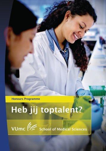 Download hier de brochure 'Heb jij toptalent?'.