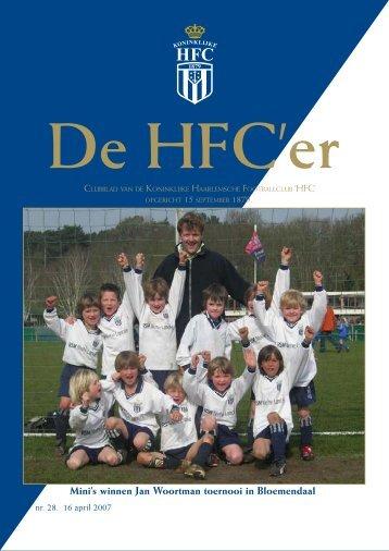 Mini's winnen Jan Woortman toernooi in ... - Koninklijke HFC