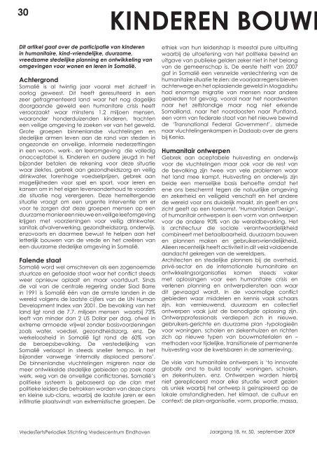 Periodiek 50 - Stichting Vredescentrum Eindhoven