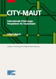 City-Maut Internationale Erfahrungen, Perspektiven für Deutschland