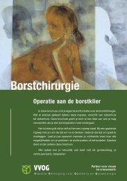 Borstchirurgie: operatie aan de borstklier - UZ Brussel