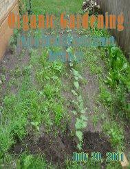 Organic Gardening - City of Brandon