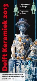 Programmaboekje met stadskaart (pdf) - Stichting Keramiek ...