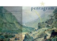 Pentagram 2007 nr. 5 - Lectorium Rosicrucianum