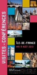Téléchargez le guide visites-conférences 2013 - La Défense