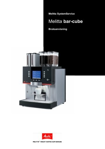 manual - Melitta aromateknik