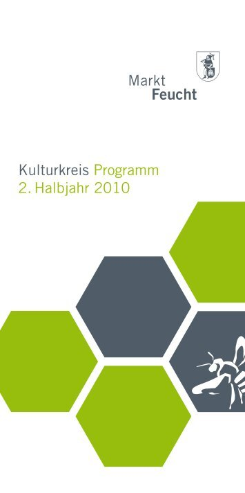 Kulturkreis Programm 2. Halbjahr 2010 - look out | easycatalog