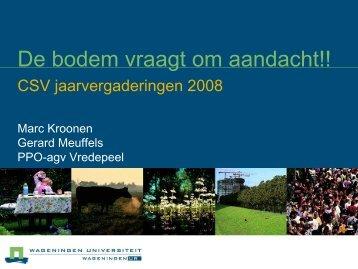 De bodem vraagt om aandacht!! - Bieten.nl