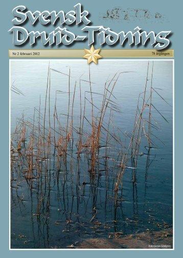 Nr 2 februari 2012 78 årgången - Svenska Druid-Orden