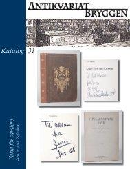 Katalog 31 - Antikvariat Bryggen