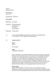 Ansvarsnämndens beslut möte mars 2013 - Visita