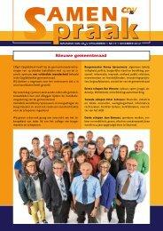 Nieuwe gemeenteraad - Opglabbeek - CD&V
