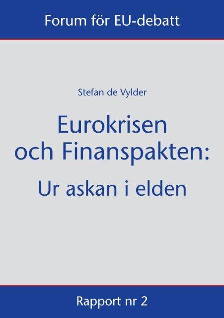 PDF-fil - Forum för EU-debatt