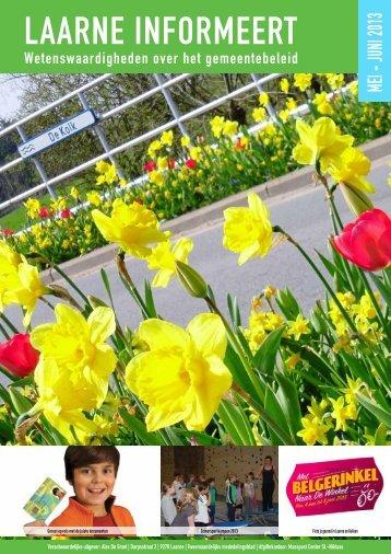 infoblad mei - juni 2013 - Gemeente Laarne