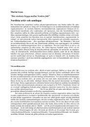 Nordiska arkiv och samlingar (Världen i källaren) - Arbetarrörelsens ...