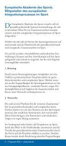 programm 2012 - Europäische Akademie des Sports in Velen ev - Seite 6