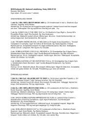 SKK/Gotlands KK, Nationell utstllning, Visby 2006-07-02